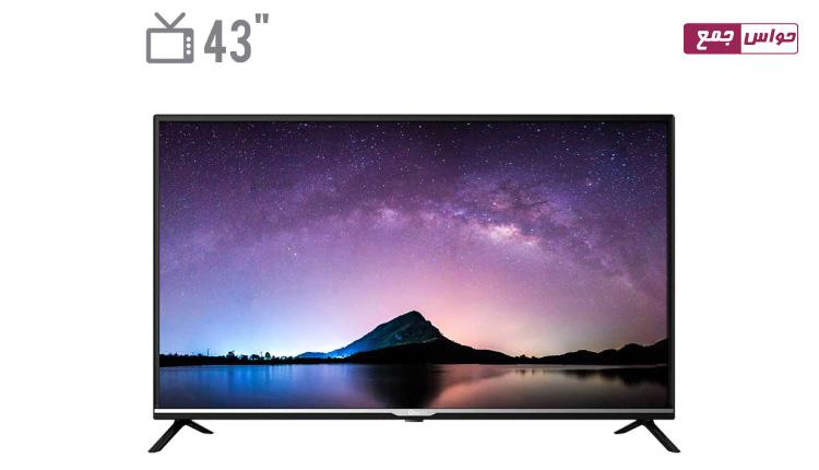 تلویزیون ال ای دی جی پلاس مدل 43JH512N سایز 43 اینچ