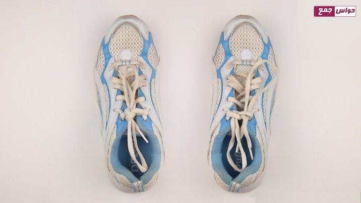 تکرار مراحل قبل برای بستن بند کفش ورزشی دوم