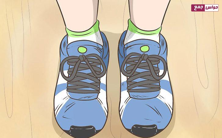 استفاده از کفش قبلی برای اندازه گیری کفش ورزشی جدید